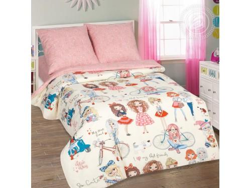 Детское постельное белье для девочки поплин Стиляги Стиляги от Комфорт Текстиль в интернет-магазине PannaTeks