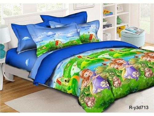 """Постельное белье в кроватку ранфорс Волшебная страна"""""""" Волшебная страна от Комфорт Текстиль в интернет-магазине PannaTeks"""