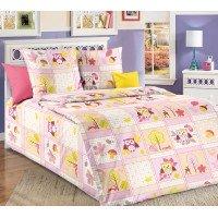 Детское постельное белье в кроватку бязь Дорис