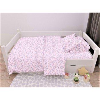 Детское постельное белье в кроватку бязь Единорожка