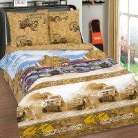 Детское постельное белье для мальчика поплин Каньон