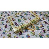 Детское постельное белье в кроватку бязь Кеша