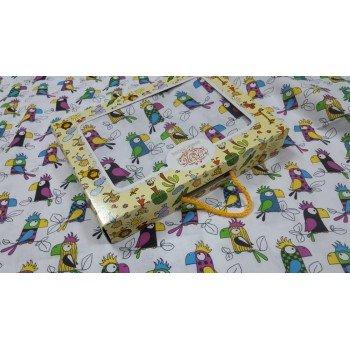 Детское постельное белье бязь Попугай Кеша фото 1