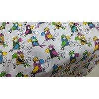 Детское постельное белье бязь Попугай Кеша