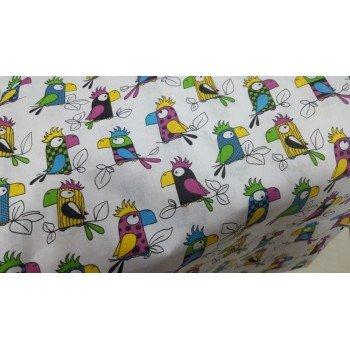 Детское постельное белье бязь Попугай Кеша Кеша от Комфорт Текстиль в интернет-магазине PannaTeks