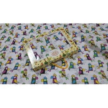 Детское постельное белье бязь Попугай Кеша фото 2