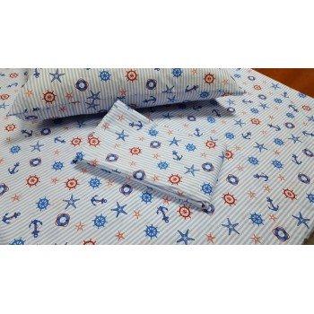 Детское постельное белье поплин Круиз фото 1