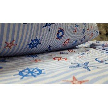Детское постельное белье поплин Круиз фото 4