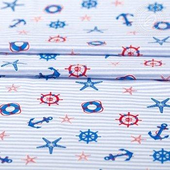 Детское постельное белье поплин Круиз Круиз от Комфорт Текстиль в интернет-магазине PannaTeks