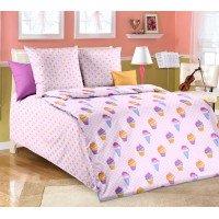 Детское постельное белье в кроватку бязь Лакомка