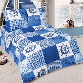 Детское постельное белье для мальчика поплин Штурвал Морехода