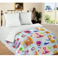 Детское постельное белье поплин Плюшевый Мир Игрушек