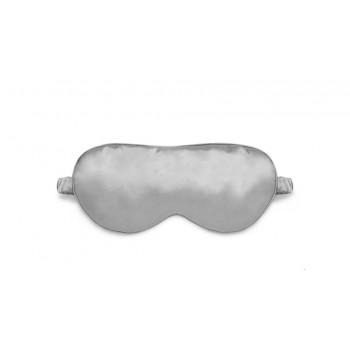 Маска для сна шелковая Серебро