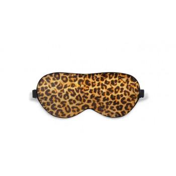 Маска для сна шелковая Леопард