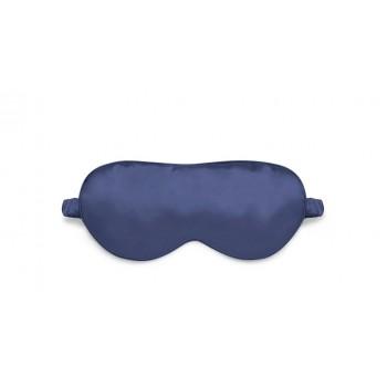 Маска для сна шелковая Синяя