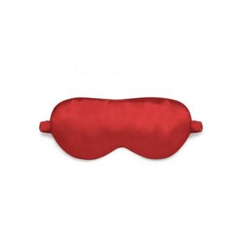 Маска для сна шелковая Красная