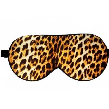 Маска для сна шелковая Леопард фото 1