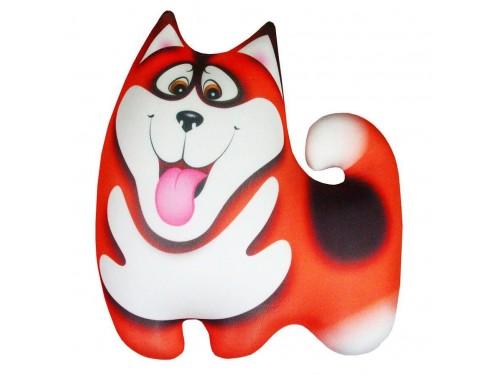 Подушка антистрессовая Хаски оранжевая Хаски ор от Love You в интернет-магазине PannaTeks
