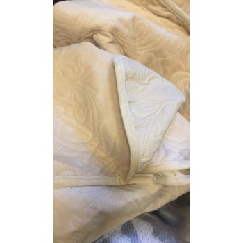 Покрывало стеганое V02 натурал фото 2