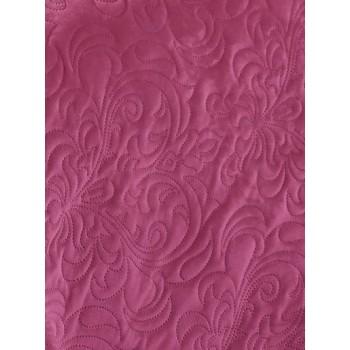 Покрывало стеганое V37 пурпурное фото 1