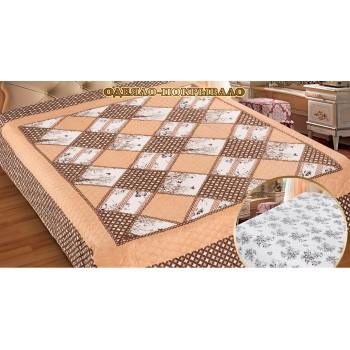 Стеганое покрывало - одеяло на диван евро 230х250 Беатриче, Украина, Love You