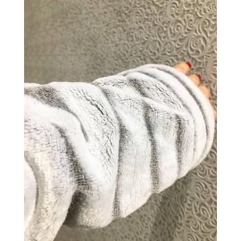 Женский теплый домашний халат велсофт Шиншилла фото 7