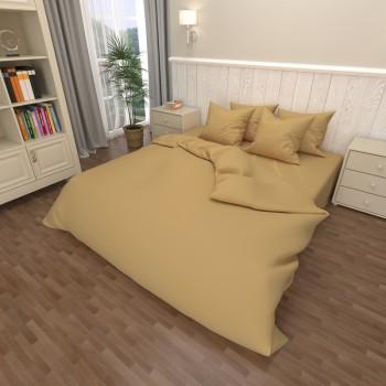 Комплект постельного белья бязь 13-1018-beige 1018 от NAZ textile в интернет-магазине PannaTeks
