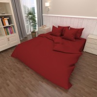 Комплект постельного белья бязь 18-1663-red