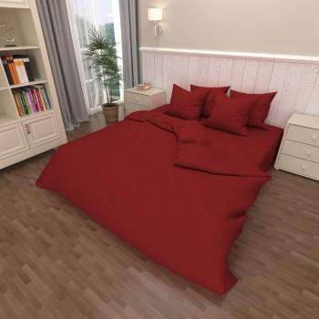 Комплект постельного белья бязь 18-1663-red 1663 от NAZ textile в интернет-магазине PannaTeks