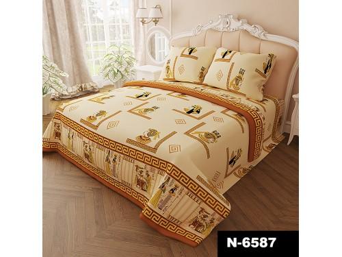 Комплект постельного белья бязь N-6587 6587 от NAZ textile в интернет-магазине PannaTeks