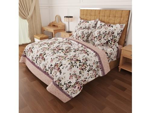 Комплект постельного белья N-6930-A-beige 6930 от NAZ textile в интернет-магазине PannaTeks