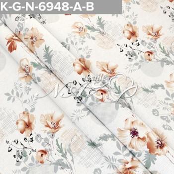 Комплект постельного белья бязь 6948-A-B фото 1