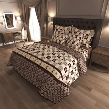 Комплект постельного белья K-G-N-7010 7010 от NAZ textile в интернет-магазине PannaTeks