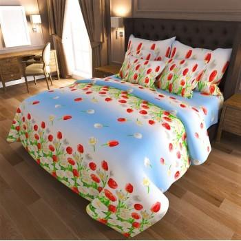Комплект постельного белья бязь 7019-blue 7019 от NAZ textile в интернет-магазине PannaTeks