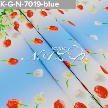 Комплект постельного белья бязь 7019-blue фото 1