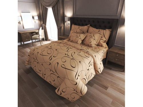 Комплект постельного белья N-7083-brown 7083 от NAZ textile в интернет-магазине PannaTeks