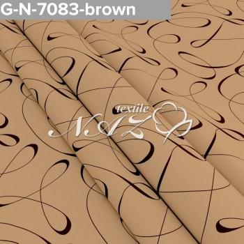 Комплект постельного белья N-7083-brown фото 1