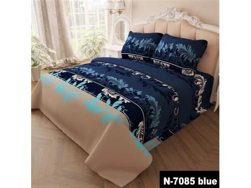 Комплект постельного белья бязь 7085-blue 7085 от NAZ textile в интернет-магазине PannaTeks