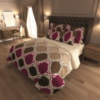Комплект постельного белья N-7424-A-B