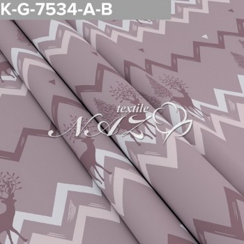 Комплект постельного белья бязь 7534-A-B фото 1