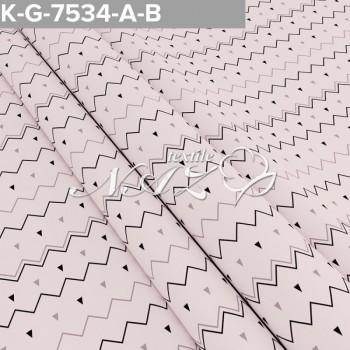 Комплект постельного белья бязь 7534-A-B фото 2