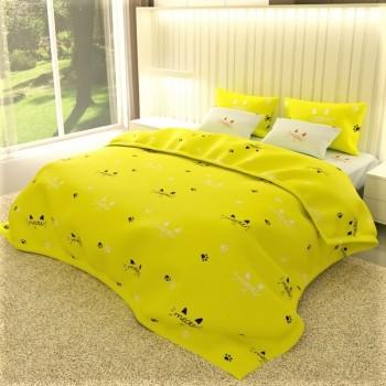 Комплект постельного белья бязь 7555-A-B 7555 от NAZ textile в интернет-магазине PannaTeks