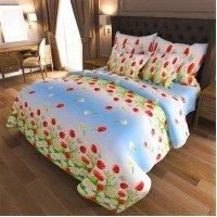 Комплект постельного белья бязь 7019-blue