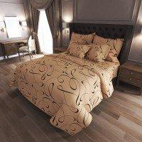 Комплект постельного белья N-7083-brown