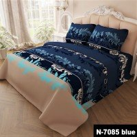 Комплект постельного белья бязь 7085-blue