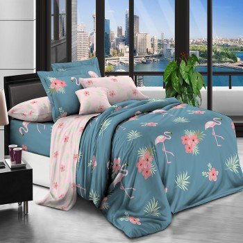 Комплект постельного белья бязь 7393-A-B 7393 от NAZ textile в интернет-магазине PannaTeks