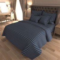 Комплект постельного белья бязь 7418-A-blue