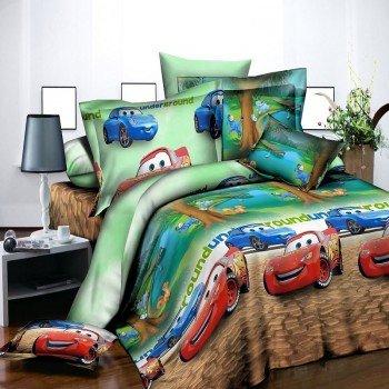 Детское постельное белье бязь Тачки 7294 7294 от NAZ textile в интернет-магазине PannaTeks