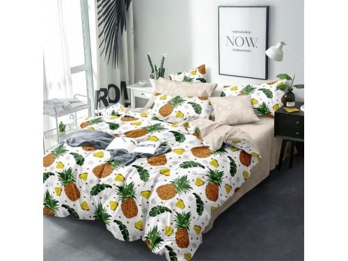 Постельное белье Ананасики бязь люкс 100104 от Selena в интернет-магазине PannaTeks