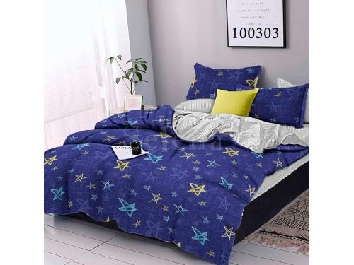 Постельное белье бязь с компаньоном Утренние Звезды на Небе 100303 от Selena в интернет-магазине PannaTeks